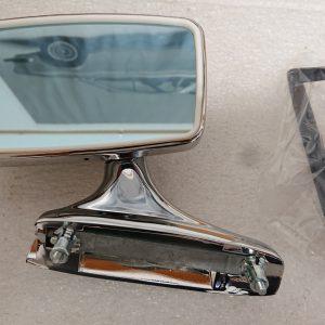 Chromen trapezium spiegel links voor BMW e9 e3 e12 02 Neue klasse