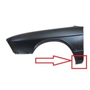 reparatiedeel voorscherm spatbord BMW e28 , set
