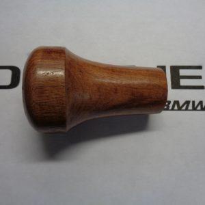 Pookknop hout nieuw met Alpina logo klikbaar, opdrukbaar