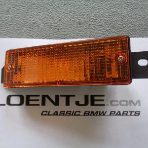 Knipperlicht links, glas met houder BMW e30 type 2